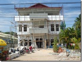 Cambodia scaffolding