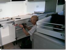 Kitchen fitting 1