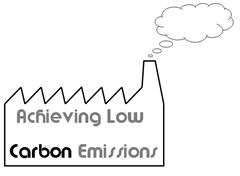 Achieving low carbon emissions